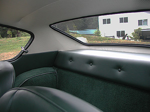 1966 FIAT GHIA 1500 COUPE back seat image