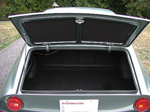 1966 FIAT GHIA 1500 COUPE trunk image