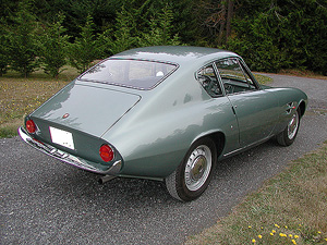 1966 FIAT GHIA 1500 COUPE exterior image